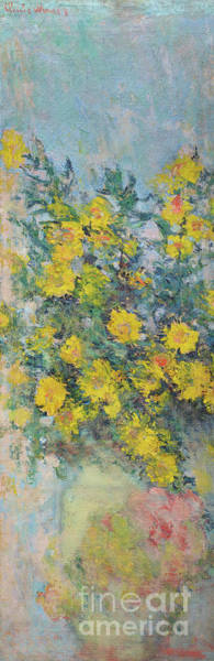 Wall Art - Painting - Mauves by Claude Monet