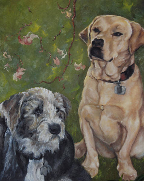 Max And Molly Art Print