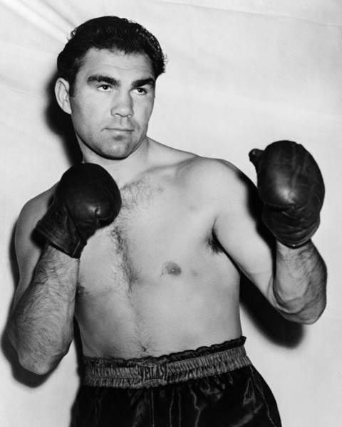 Boxing Photograph - Max Schmeling - The Black Uhlan Of The Rhine by War Is Hell Store