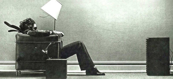 Louis Vuitton Digital Art - Maxell Ad Blown Away Guy by Thomas Pollart