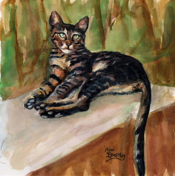 Painting - Maxi Relax by Mimi Boothby