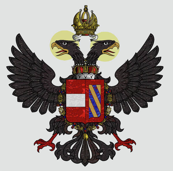 Painting - Maximilian I - Coat Of Arms  by Andrea Mazzocchetti