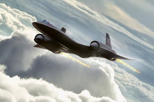 Supersonic Speed Wall Art - Digital Art - Maximum Overdrive by Peter Chilelli