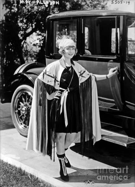 Allison Photograph - May Allison by Sad Hill - Bizarre Los Angeles Archive