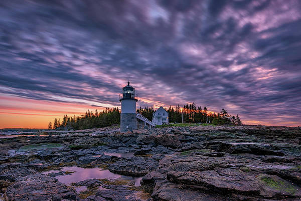 Photograph - May Sunrise At Marshall Point by Rick Berk