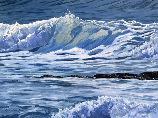 Painting - May Wave by Lawrence Dyer