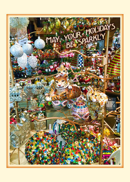 Photograph - May Your Holidays Be Sparkly by Bonnie Follett