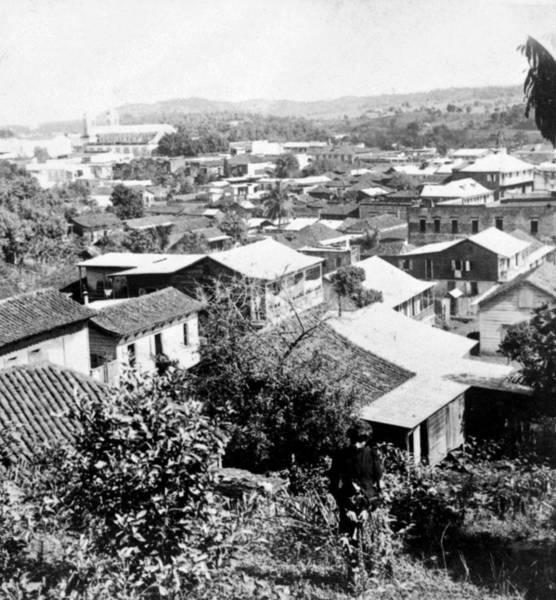 Puerto Rican Photograph - Mayaguez - Puerto Rico - C 1900 by International  Images