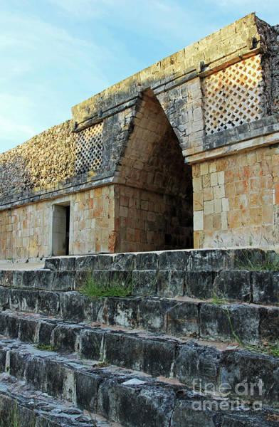 Photograph - Mayan Hallway by Jennifer Robin