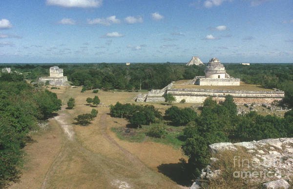 Wall Art - Photograph - Mayan Observatory, Mexico by Granger