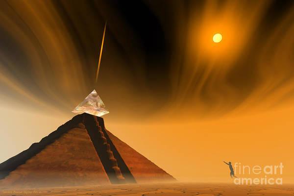Digital Art - Mayan Odyssey by Sandra Bauser Digital Art