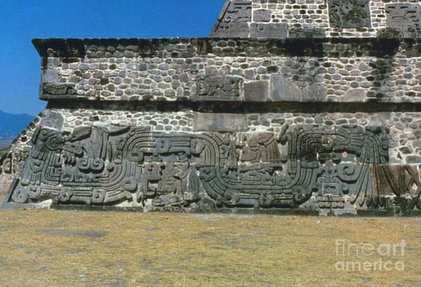 Photograph - Mayan Pyramid, C450 A.d by Granger
