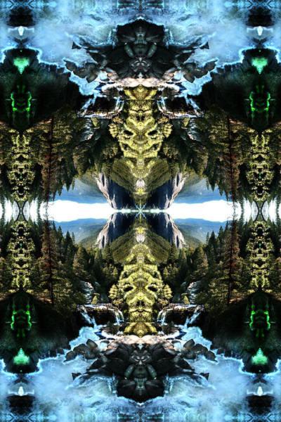 Shaman Digital Art - Mayan Timewave Temple by Filip Klein
