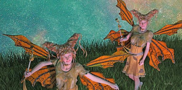 Daz Wall Art - Digital Art - Maybe And Maybe Not 7236 by Betsy Knapp