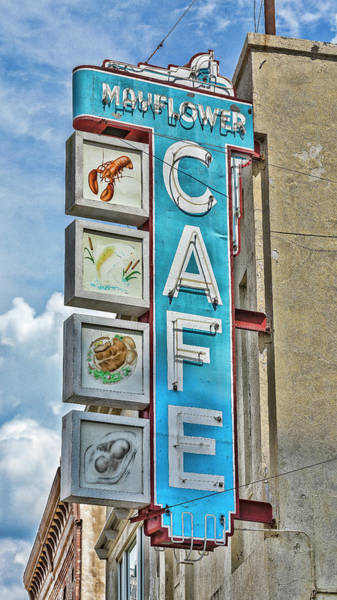 Wall Art - Photograph - Mayflower Cafe - Jackson by Stephen Stookey