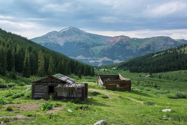 Photograph - Mayflower Gulch Cabins by Aaron Spong