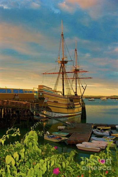 Photograph - Mayflower II by Amazing Jules