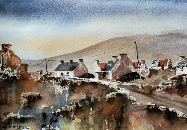 Painting - Mayo Achill.... Near Dugort by Val Byrne
