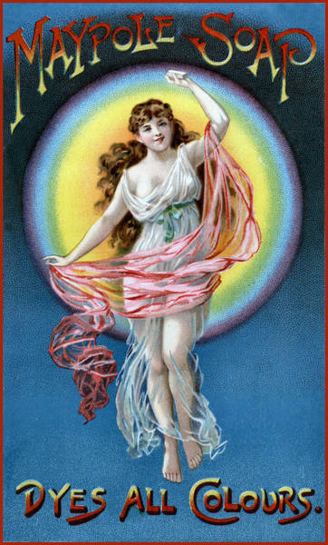 Photograph - Maypole Soap Ad by Vintage Advertising