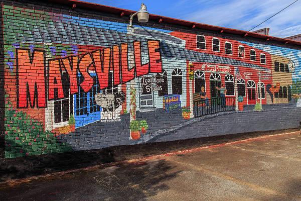 Photograph - Maysville Mural by Doug Camara