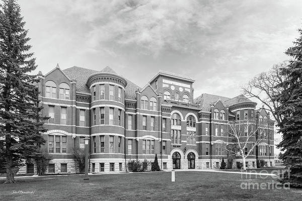 Photograph - Mayville State University Old Main by University Icons