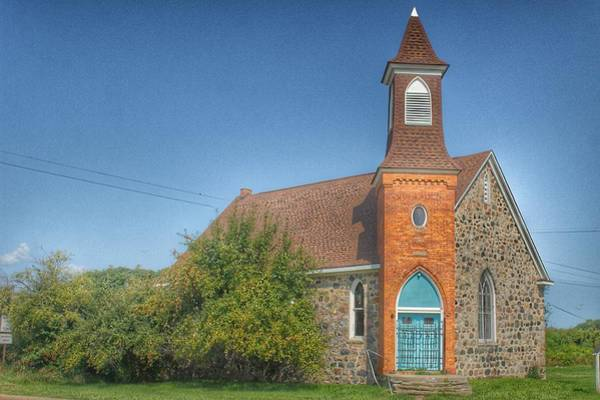 Photograph - 4001 - Mayville's Church Of The Past by Sheryl Sutter