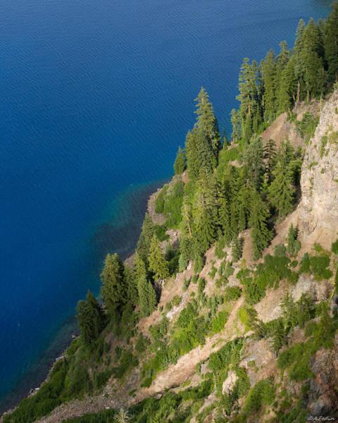 Photograph - Mazama Mountain Crater Lake by Alexander Fedin