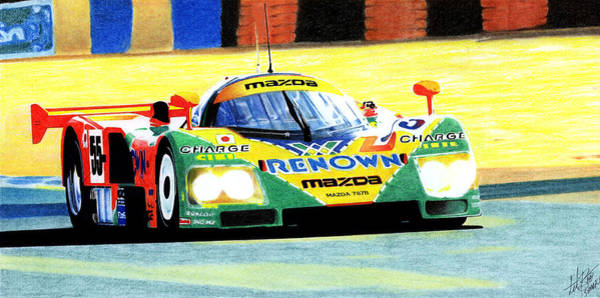 Wall Art - Photograph - Mazda 787b by Lyle Brown