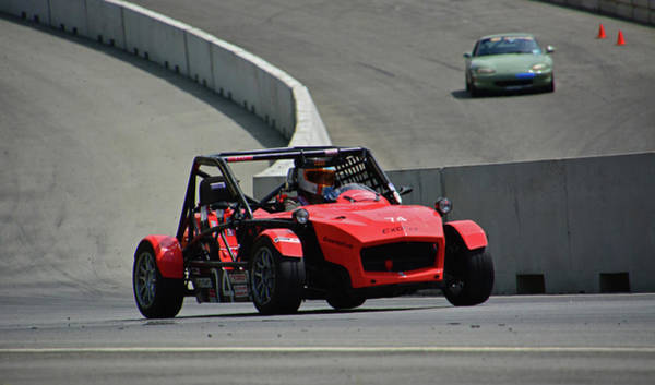 Whiskey Hill Wall Art - Photograph - Mazda Exocet by Mike Martin