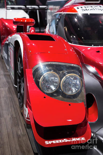 Photograph - Mazda Racing Car by Jim West