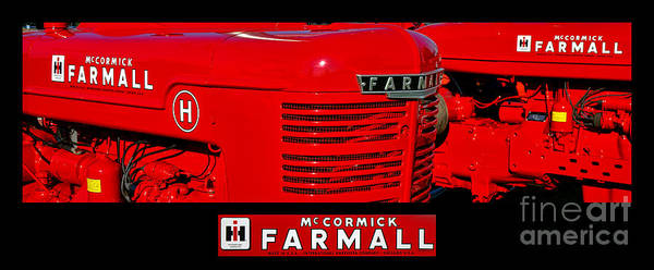 Mccormick Wall Art - Photograph - Mc Cormick Farmall Poster by Olivier Le Queinec