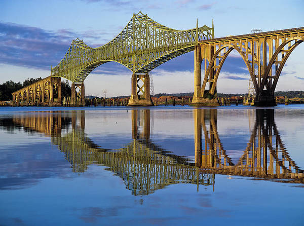 Photograph - Mccullough Memorial Bridge by Robert Potts
