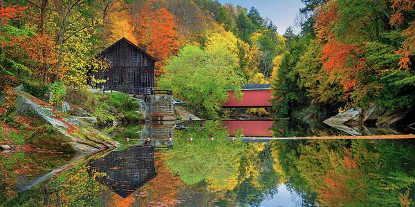 Photograph - Mcconnells Mill by Emmanuel Panagiotakis
