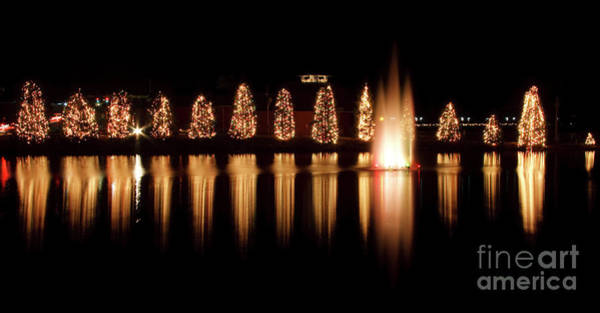 Photograph - Mcadenville Christmas Lights by Jill Lang