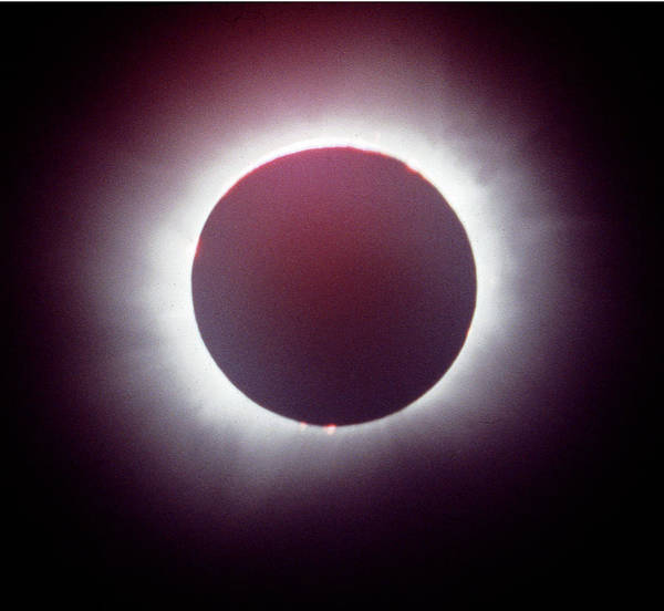 Photograph - Mcc-107-a Full Solar Eclipse 1979 by Ed Cooper Photography