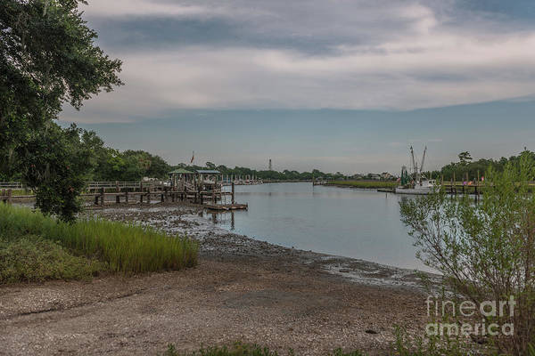 Photograph - Mcclellanville Boat Ramp by Dale Powell