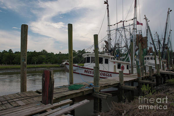Photograph - Mcclellanville Dock Charm by Dale Powell