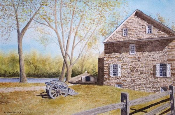 Wall Art - Painting - Mcconkey Ferry Inn by Denise Harty