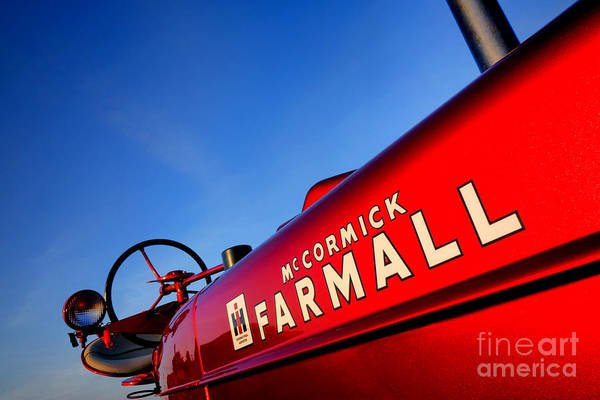 Mccormick Wall Art - Photograph - Mccormick Farmall Red Beauty by Olivier Le Queinec