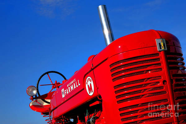 Farm Equipment Photograph - Mccormick Farmall Super M by Olivier Le Queinec