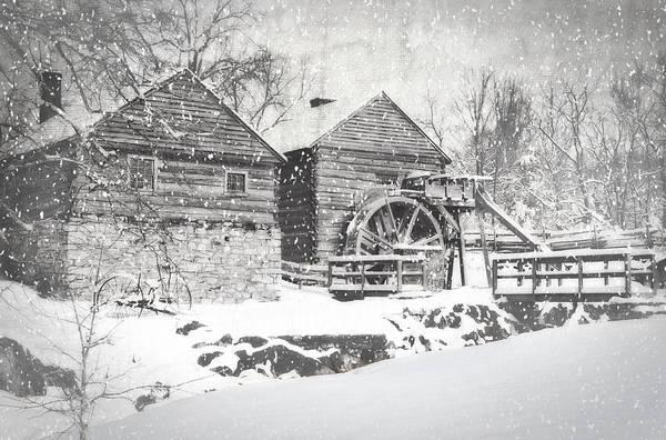 Rockbridge County Photograph - Mccormick's Farm February 2012 Series Vi by Kathy Jennings