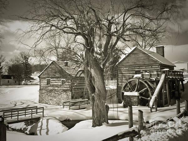 Rockbridge County Photograph - Mccormicks Farm In Winter by Kathy Jennings