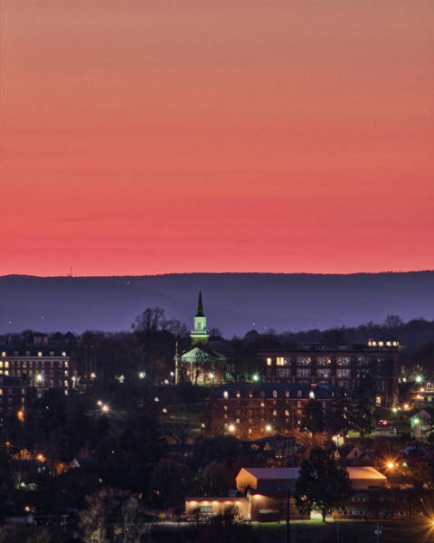 Photograph - Mcdaniel At Sunset by Mark Dodd