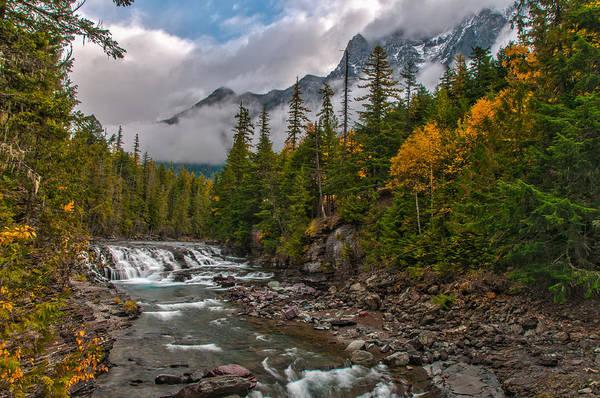 Photograph - Mcdonald Creek  Glacier National Park by Brenda Jacobs