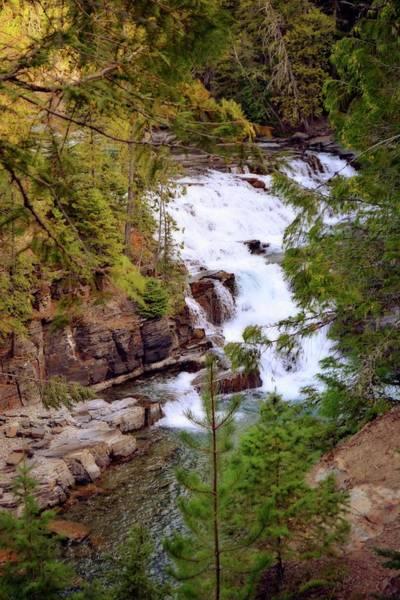 Photograph - Mcdonald Creek 4 by Marty Koch