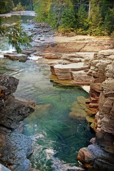 Photograph - Mcdonald Creek 6 by Marty Koch