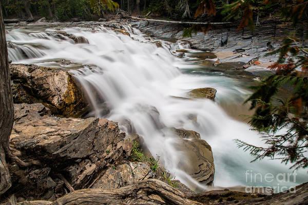 Photograph - Mcdonald Falls by Jemmy Archer