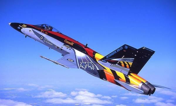 Transportation Digital Art - Mcdonnell Douglas Cf-18 Hornet by Super Lovely