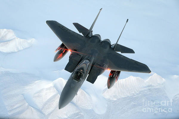 Photograph - Mcdonnell Douglas F-15 Eagle, 2015 by Science Source