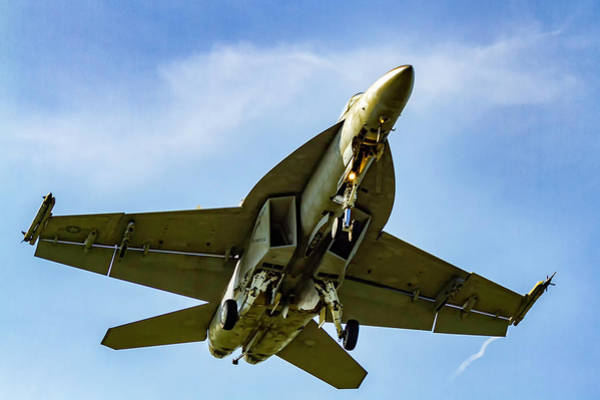 Photograph - Mcdonnell Douglas F/a-18 Hornet by Pete Federico